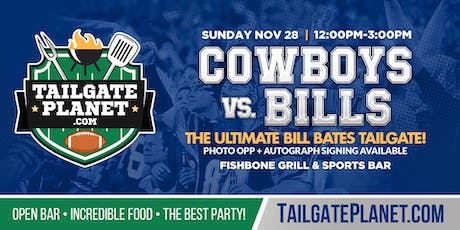 Eddie Dean's Tailgate – Cowboys vs. Bills tickets