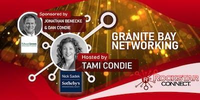 Free Granite Bay Rockstar Connect Networking Event (October, near Sacramento)