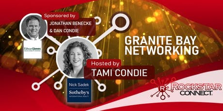 Free Granite Bay Rockstar Connect Networking Event (October, near Sacramento) tickets