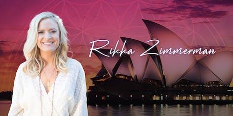 Abundant Life Blueprint with Rikka Zimmerman tickets
