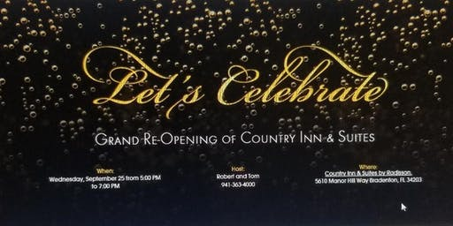 Country Inn & Suites Grand Re-opening