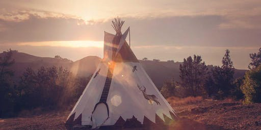 ANCESTRAL HEALING :: BREATHWORK + AROMATHERAPY + SOUND - IN A TIPI