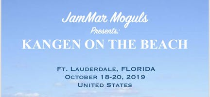 JamMar Moguls Presents: Kangen On The Beach