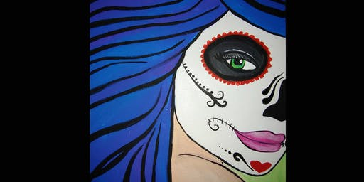 Día de Muerto Sugar Skull  Art-E Party