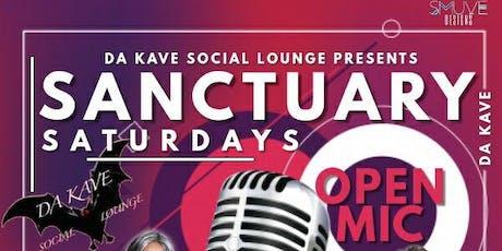Sanctuary Saturdays Open Mic tickets