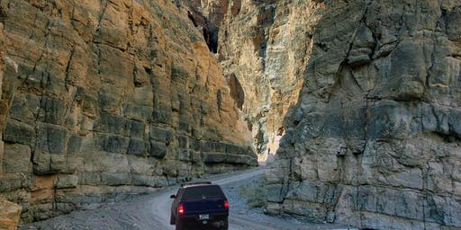 Titus Canyon Driving Tour with Author Ken Lengner