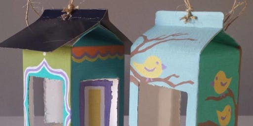 Art at the Barn: make your own bird feeder