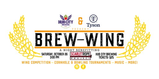 Brew-Wing: A Night Benefitting The Scarlet Rope Project