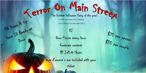 Terror on Main Street Halloween Party