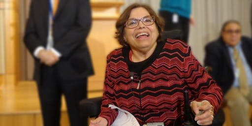 A Morning with Judy Heumann - International Disability Rights Activist