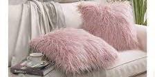 DIY Faux Fur Pillow Case Cover