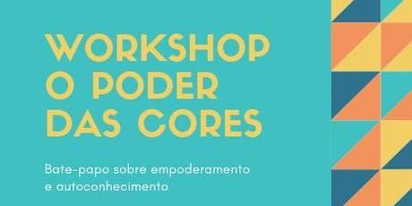 Workshop O Poder das Cores ingressos