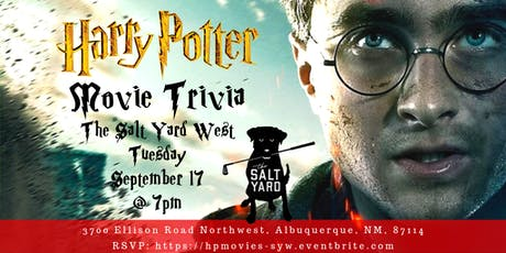 Harry Potter Movies at The Salt Yard West tickets