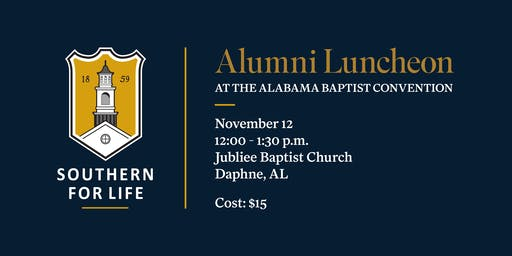 SBTS Alumni & Friends Lunch at the Alabama Baptist Convention