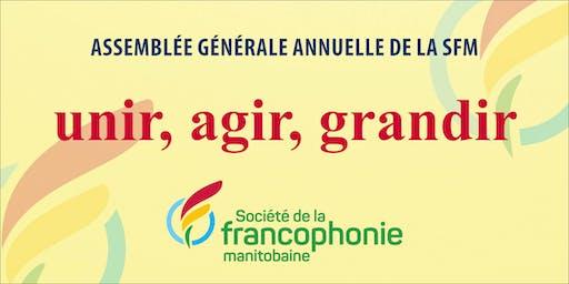 L'assemblée générale annuelle de la Société de la francophonie manitobaine