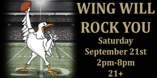 WING Will Rock You!! (College Football & Wing Event)