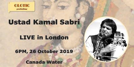 Indian Classical Music - Sarangi by Ustad Kamal Sabri tickets