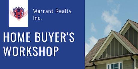 Home Buyer's Workshop tickets