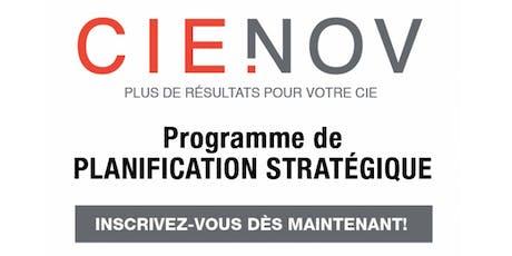 PROGRAMME DE PLANIFICATION STRATÉGIQUE - Séance d'information billets