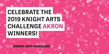 Knight Arts Challenge Akron Celebration tickets