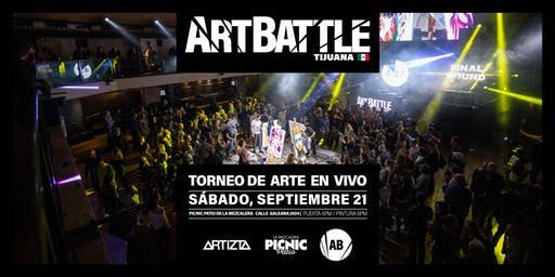 Art Battle Tijuana - 21 de Septiembre, 2019