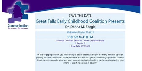 Dr. Donna M. Beegle - Communication Across Barriers tickets