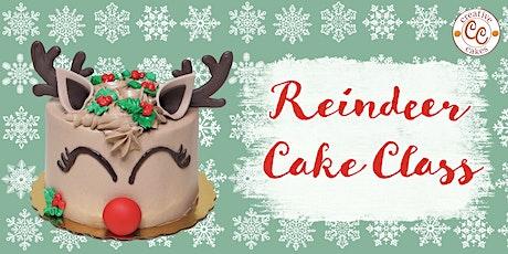 Reindeer Cake Class - Parent & Child tickets