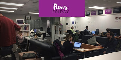 Fiver Fridays: $5 coworking at HustleCo tickets