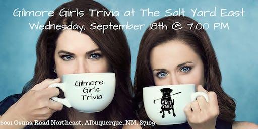 Gilmore Girls Trivia at The Salt Yard East