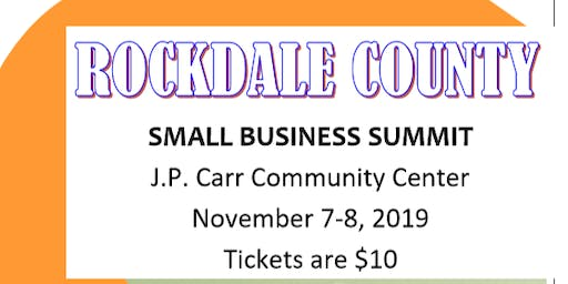 Rockdale County Small Business Summit