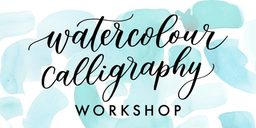 Watercolour Calligraphy Workshop - Holiday Edition