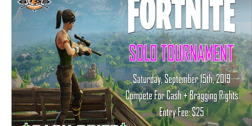 Fortnite Live SOLO Tournament