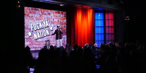 "AMP Radio Presents: ""Fock Ya Nation"" @ Brea Improv w/ The Cass Man"
