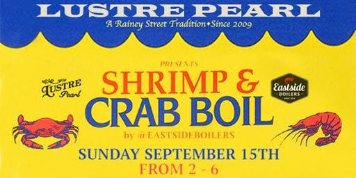 Lustre  Pearl Shrimp & Crab Boil