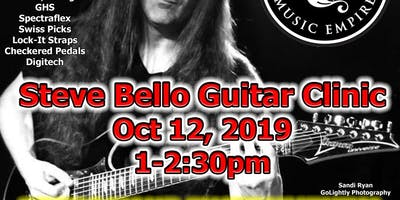 Guitar Clinic with Steve Bello