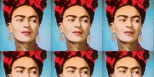 Frida Kahlo Portrait Pop Art-Celebrating Hispanic Heritage Month!