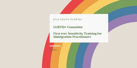 LGBTQ Sensitivity Training for Immigration Practitioners  tickets