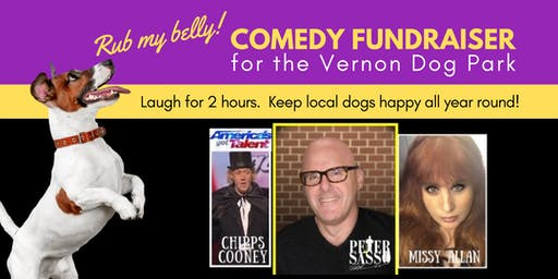 Comedy Night Fundraiser for Vernon Dog Park