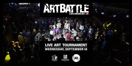 Art Battle Los Angeles - September 18, 2019