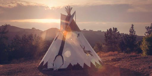 PAST-LIFE REGRESSION MEDITATION + SOUND JOURNEY :: IN THE TIPI