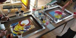 "Silk Screen Printmaking - ""Off the Press"""