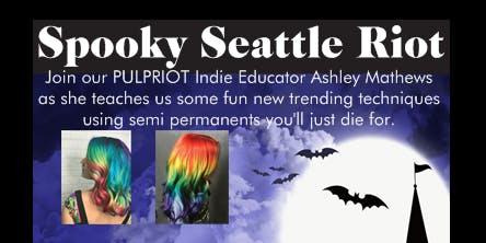 Spooky Seattle Riot
