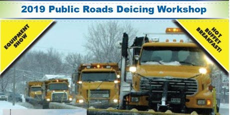 2019 Public Roads Deicing Workshop tickets