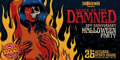 Dance of the Damned Halloween Party tickets