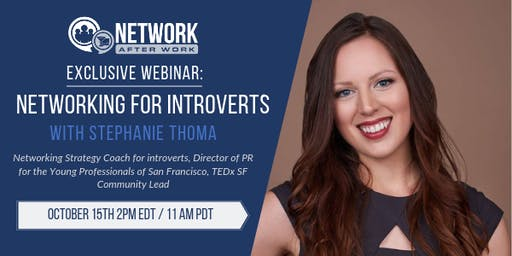 NAW Exclusive Webinar: Networking for Introverts