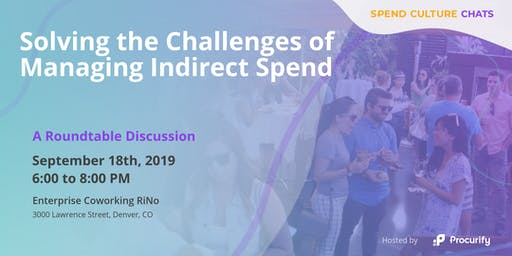 Spend Culture Chats: Solving the Challenges of Managing Indirect Spend