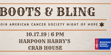Night of Hope - Boots & Bling Table Sponsors and Individual Tickets tickets
