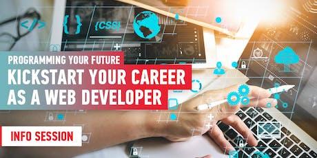Kickstart Your Career As A Web Developer: Info Session tickets