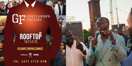 The Gentleman's Factory: End of Summer Rooftop Mixer tickets