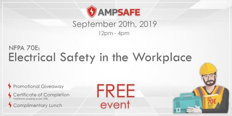 NFPA 70E®  Electrical Safety in the Workplace tickets
